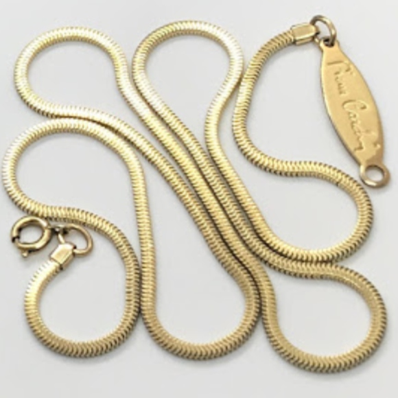 Pierre Cardin Jewelry Vintage Gold Filled Snake Chain Poshmark